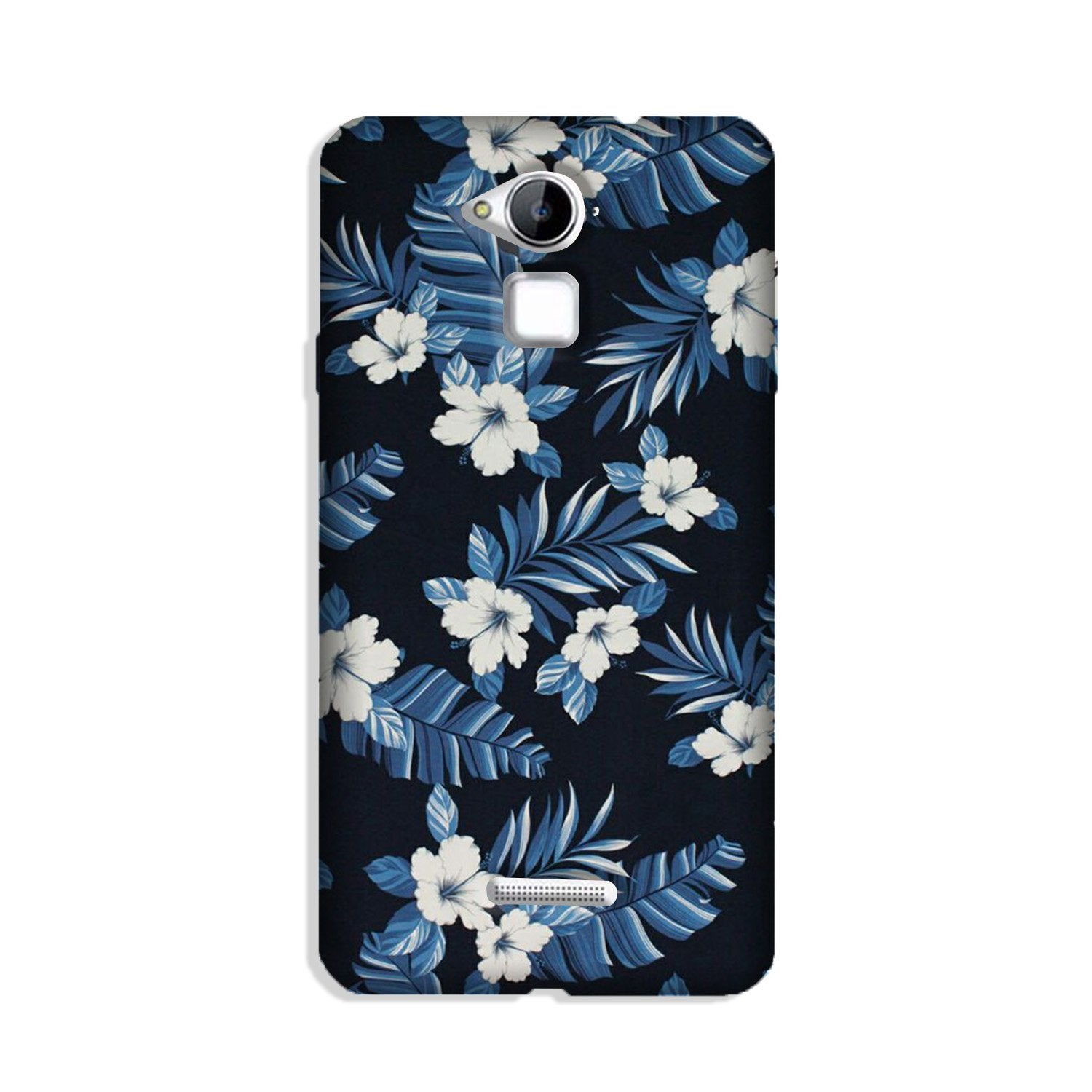 White flowers Blue Background2 Case for Coolpad Note 3