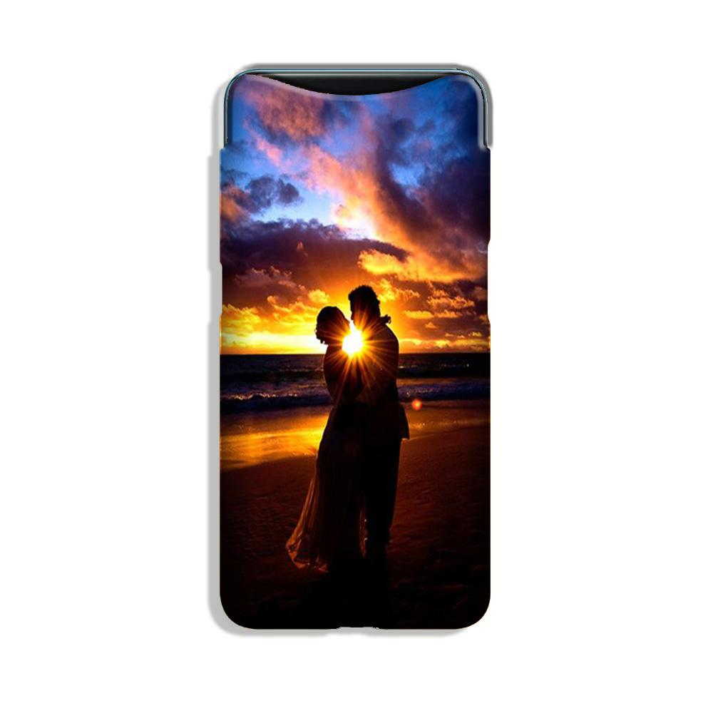 Couple Sea shore Case for Oppo Find X