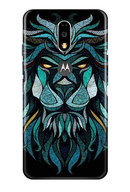 Lion Mobile Back Case for Moto G4 Plus (Design - 314)