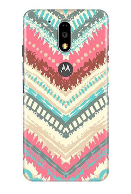 Pattern Mobile Back Case for Moto G4 Plus (Design - 368)