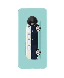 Travel Bus Mobile Back Case for Moto G5 (Design - 379)