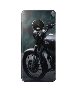 Royal Enfield Mobile Back Case for Moto G5 Plus (Design - 380)
