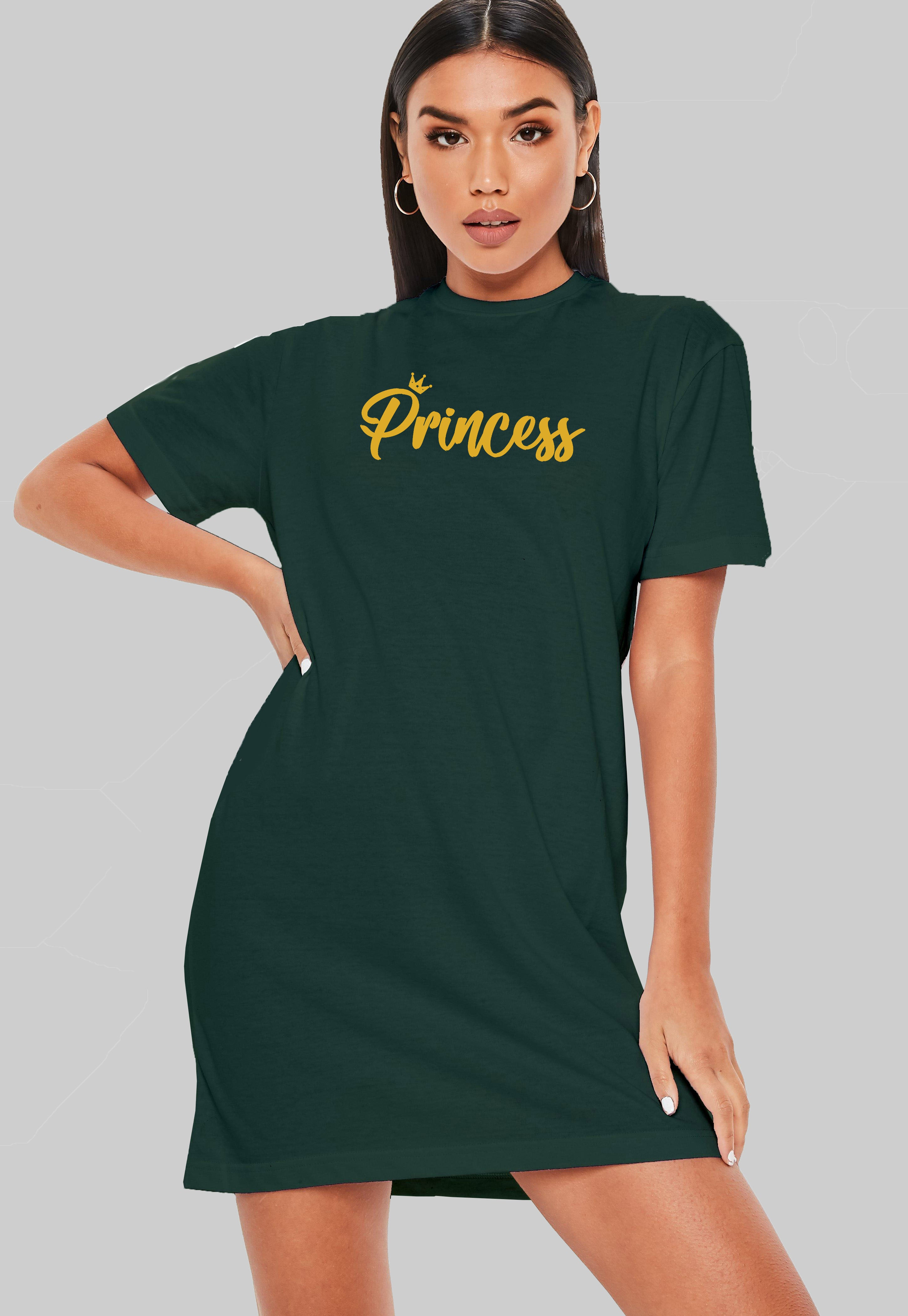Princess T-Shirt Dress