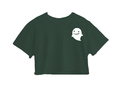 Cute Ghost Crop Top