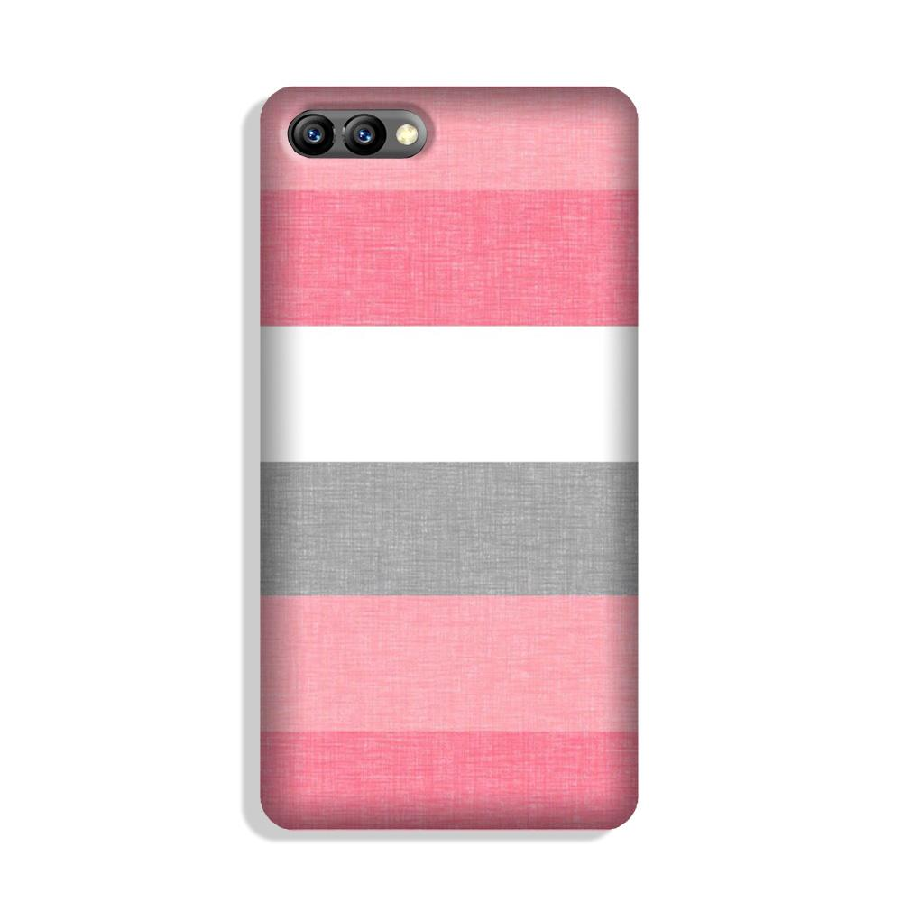 Pink white pattern Case for Honor 10