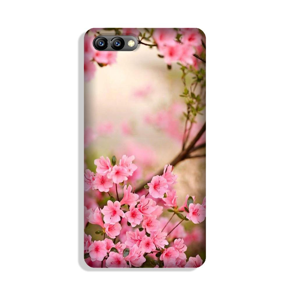 Pink flowers Case for Honor 10