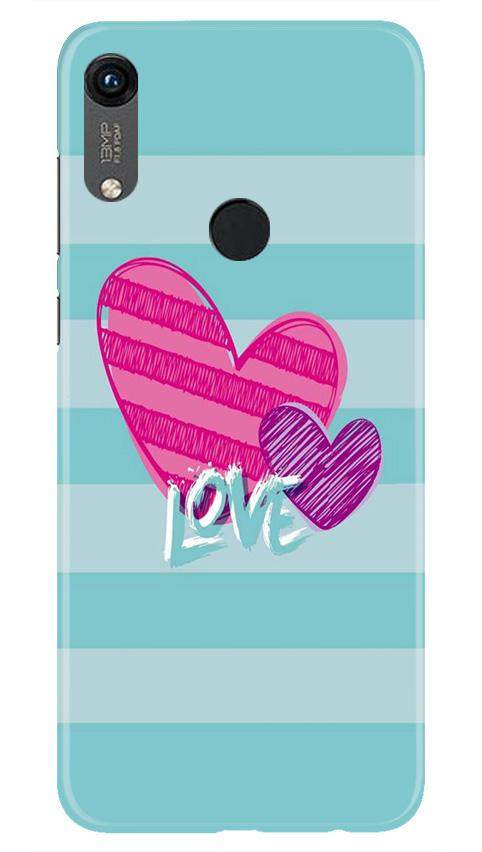 Love Case for Honor 8A (Design No. 299)