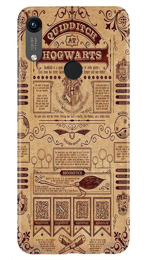 Hogwarts Mobile Back Case for Honor 8A (Design - 304)