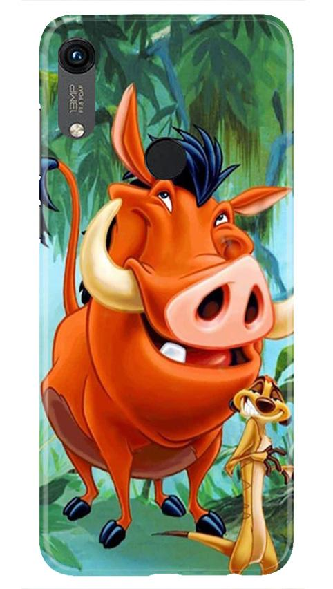 Timon and Pumbaa Mobile Back Case for Honor 8A (Design - 305)