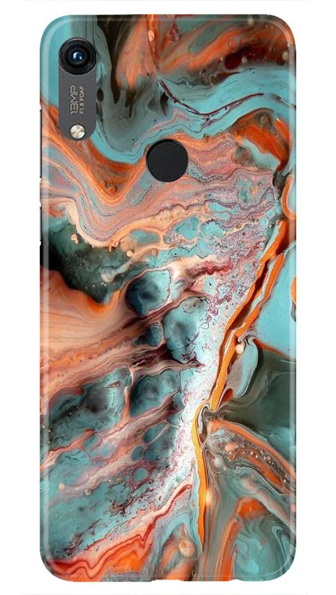 Marble Texture Mobile Back Case for Honor 8A (Design - 309)