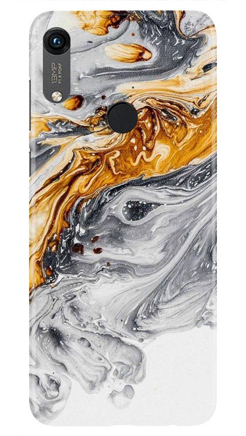Marble Texture Mobile Back Case for Honor 8A (Design - 310)