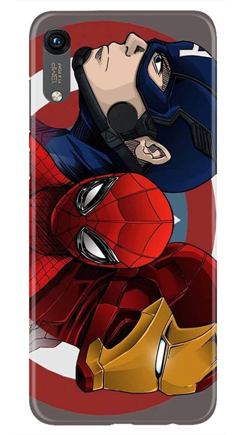 Superhero Mobile Back Case for Honor 8A (Design - 311)
