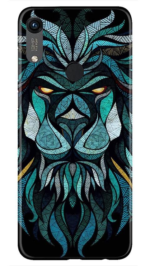 Lion Mobile Back Case for Honor 8A (Design - 314)