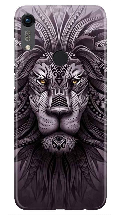 Lion Mobile Back Case for Honor 8A (Design - 315)