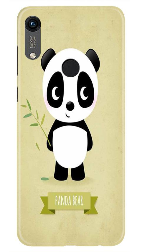 Panda Bear Mobile Back Case for Honor 8A (Design - 317)