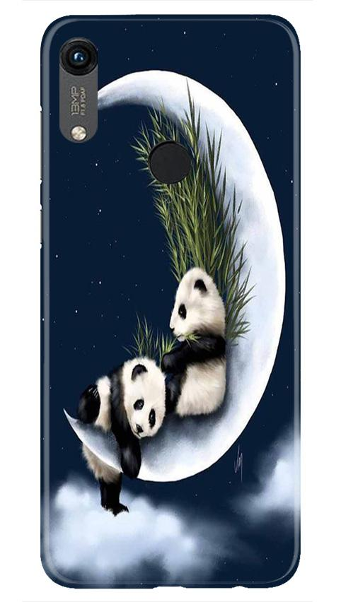 Panda Moon Mobile Back Case for Honor 8A (Design - 318)
