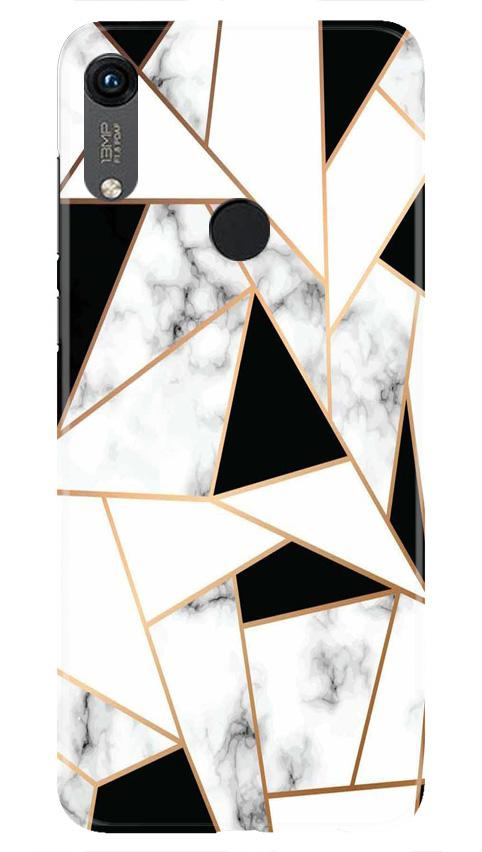Marble Texture Mobile Back Case for Honor 8A (Design - 322)