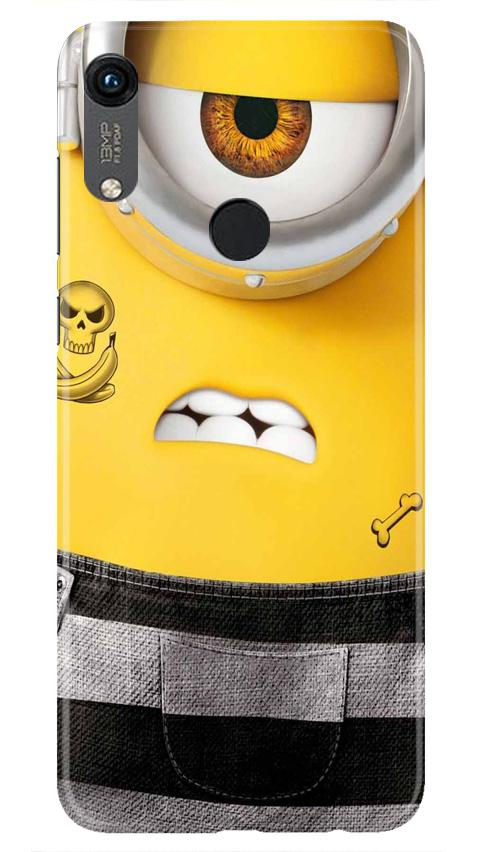 Minion Mobile Back Case for Honor 8A (Design - 324)