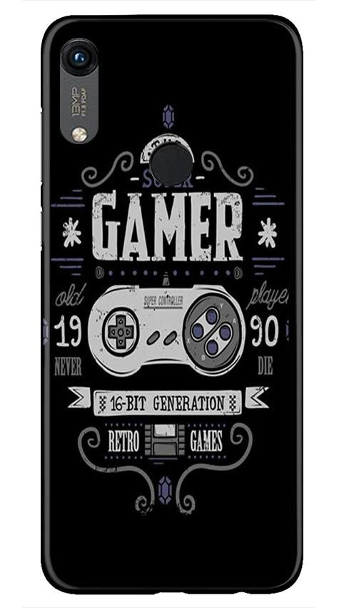 Gamer Mobile Back Case for Honor 8A (Design - 330)