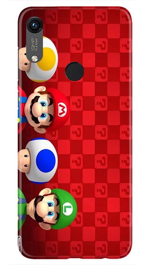 Mario Mobile Back Case for Honor 8A (Design - 337)