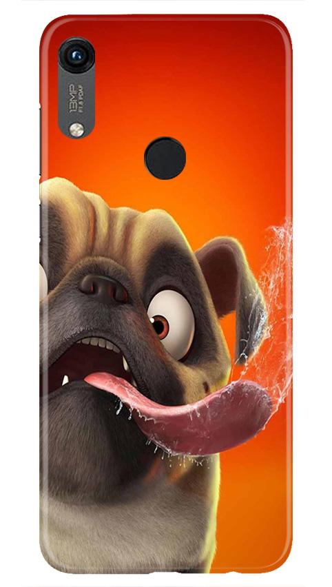 Dog Mobile Back Case for Honor 8A (Design - 343)