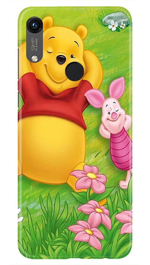 Winnie The Pooh Mobile Back Case for Honor 8A (Design - 348)