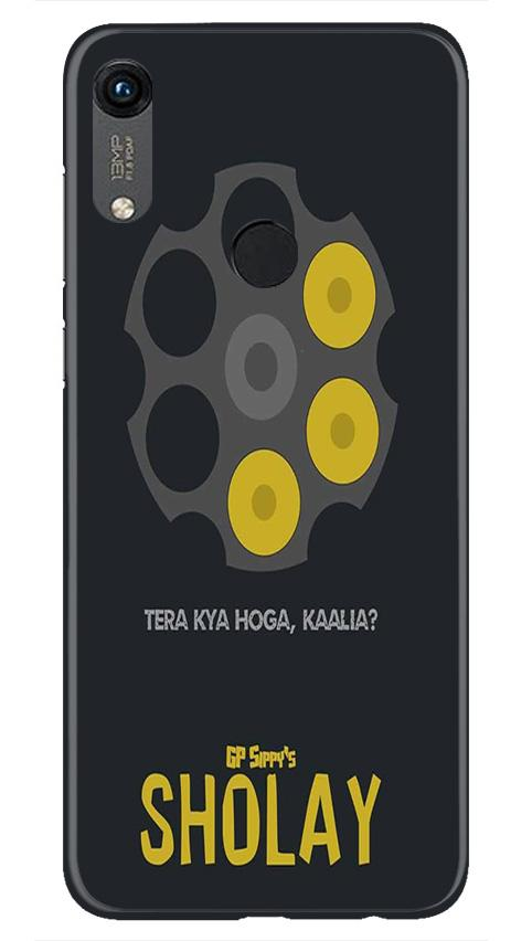 Sholay Mobile Back Case for Honor 8A (Design - 356)