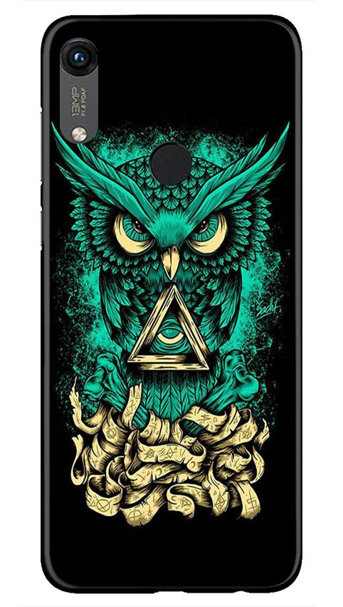 Owl Mobile Back Case for Honor 8A (Design - 358)