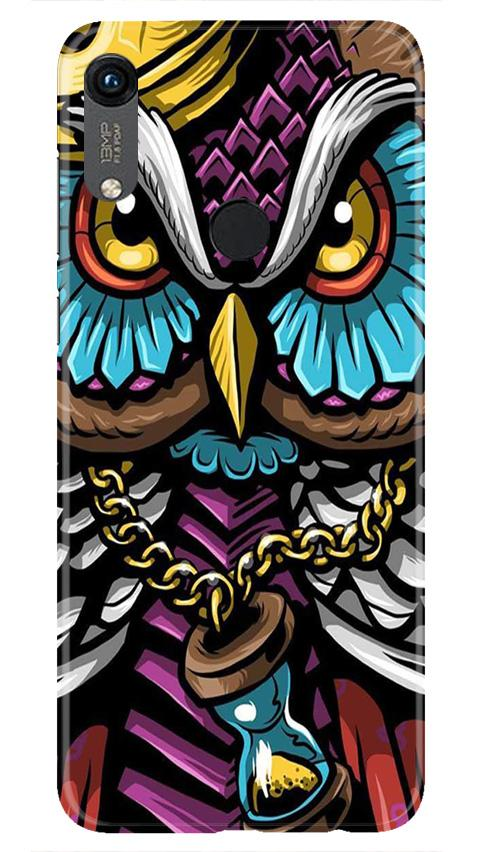 Owl Mobile Back Case for Honor 8A (Design - 359)