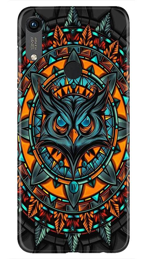 Owl Mobile Back Case for Honor 8A (Design - 360)