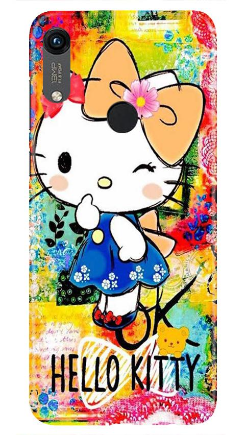 Hello Kitty Mobile Back Case for Honor 8A (Design - 362)