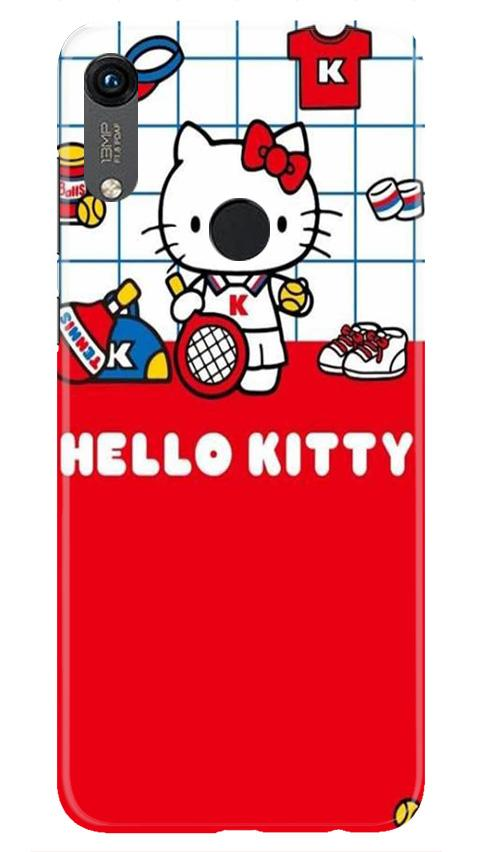 Hello Kitty Mobile Back Case for Honor 8A (Design - 363)