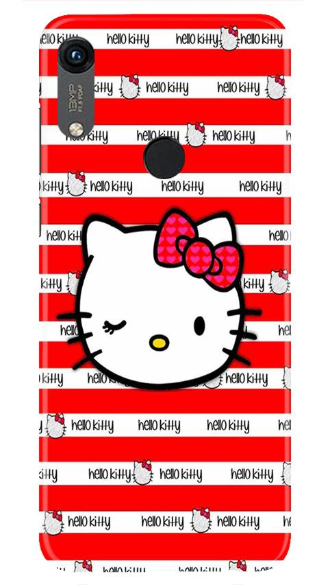 Hello Kitty Mobile Back Case for Honor 8A (Design - 364)