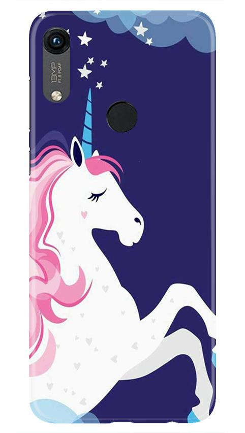 Unicorn Mobile Back Case for Honor 8A (Design - 365)