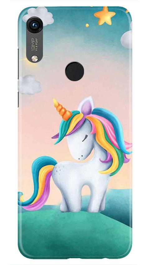 Unicorn Mobile Back Case for Honor 8A (Design - 366)