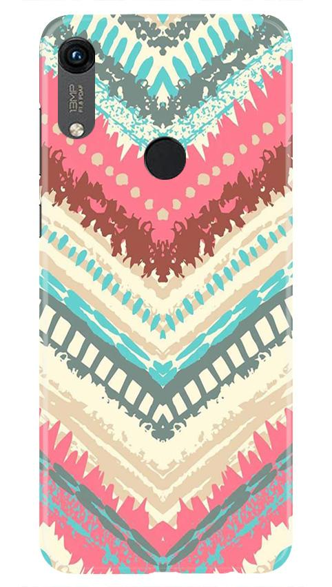 Pattern Mobile Back Case for Honor 8A (Design - 368)