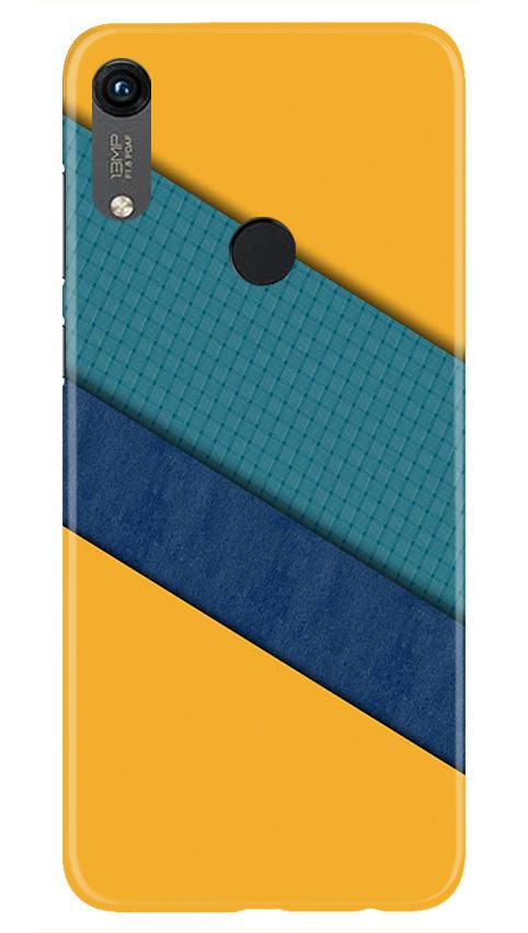Diagonal Pattern Mobile Back Case for Honor 8A (Design - 370)
