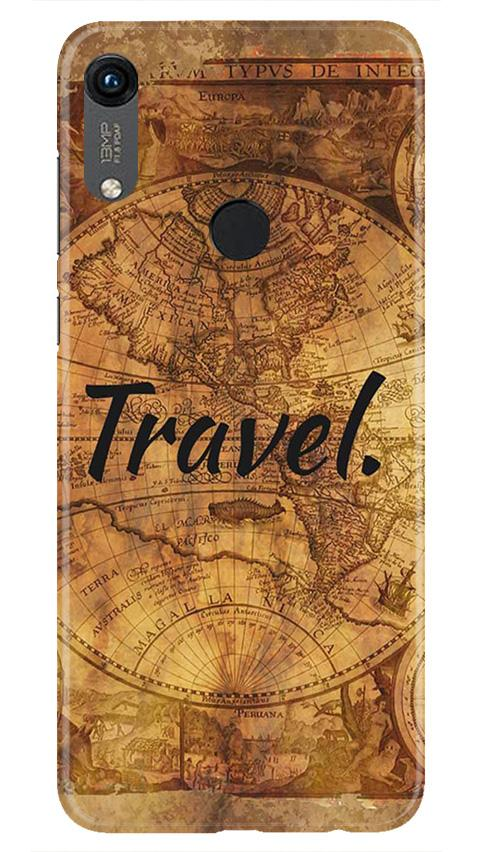 Travel Mobile Back Case for Honor 8A (Design - 375)