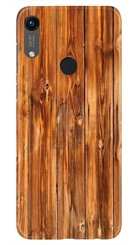 Wooden Texture Mobile Back Case for Honor 8A (Design - 376)