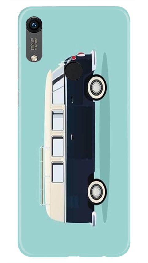 Travel Bus Mobile Back Case for Honor 8A (Design - 379)