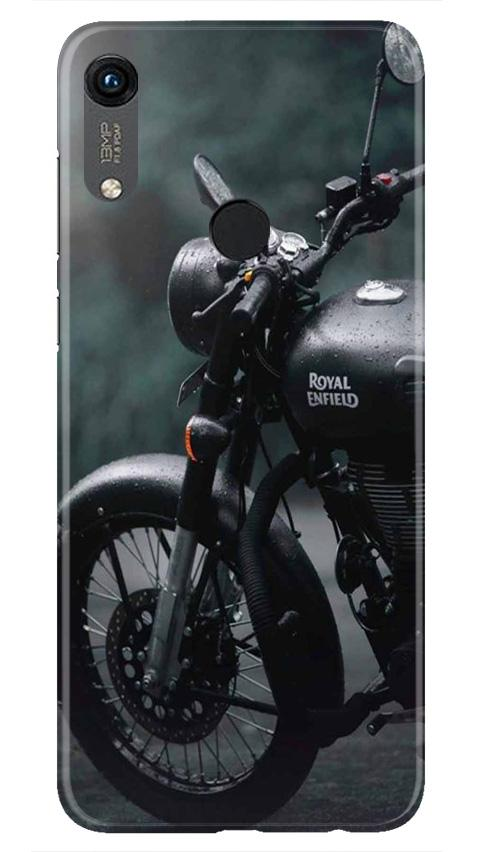Royal Enfield Mobile Back Case for Honor 8A (Design - 380)
