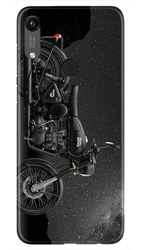 Royal Enfield Mobile Back Case for Honor 8A (Design - 381)