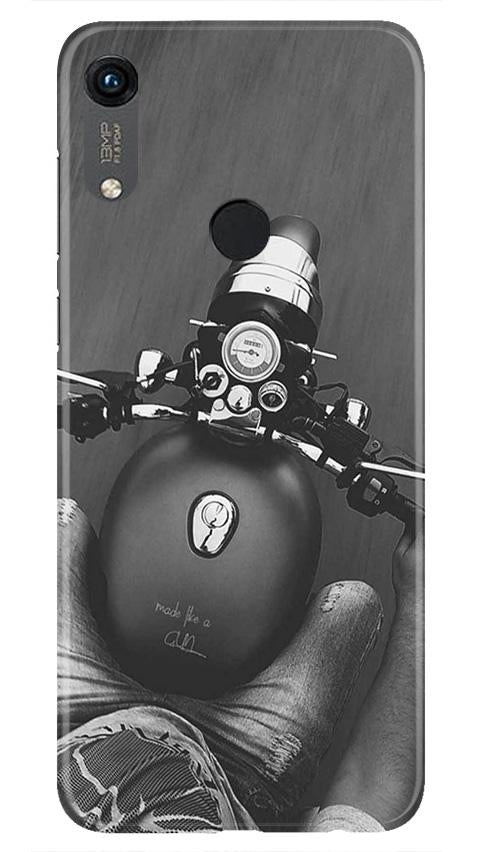 Royal Enfield Mobile Back Case for Honor 8A (Design - 382)