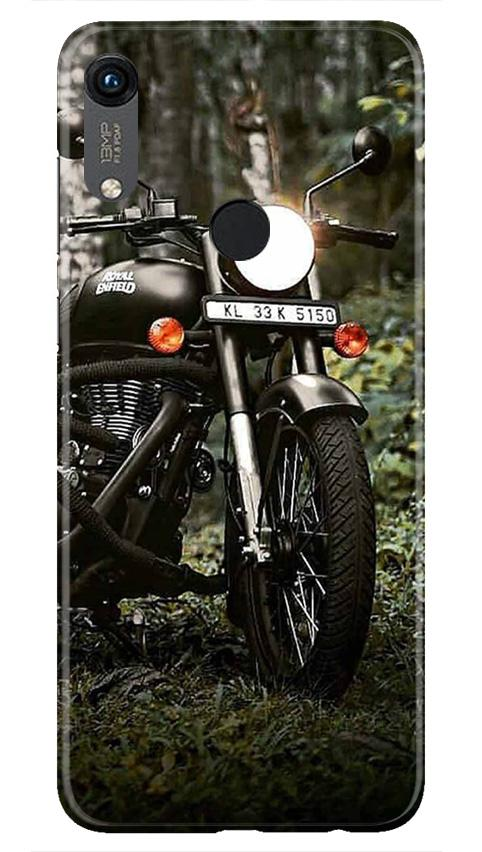 Royal Enfield Mobile Back Case for Honor 8A (Design - 384)