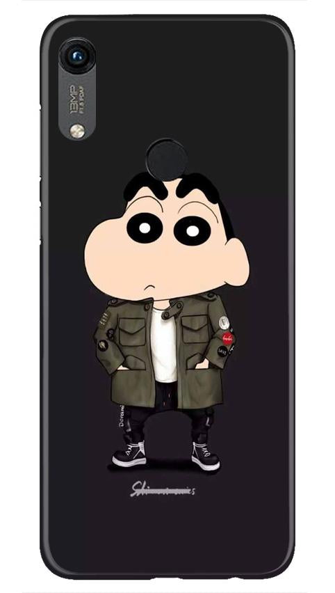 Shin Chan Mobile Back Case for Honor 8A (Design - 391)