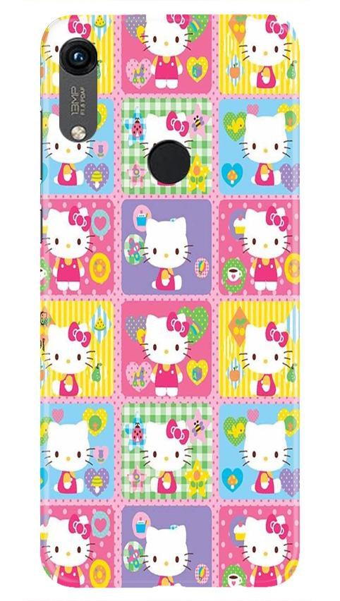 Kitty Mobile Back Case for Honor 8A (Design - 400)