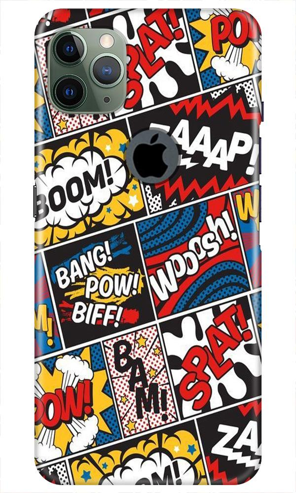 Boom Mobile Back Case for iPhone 11 Pro Max Logo Cut (Design - 302)
