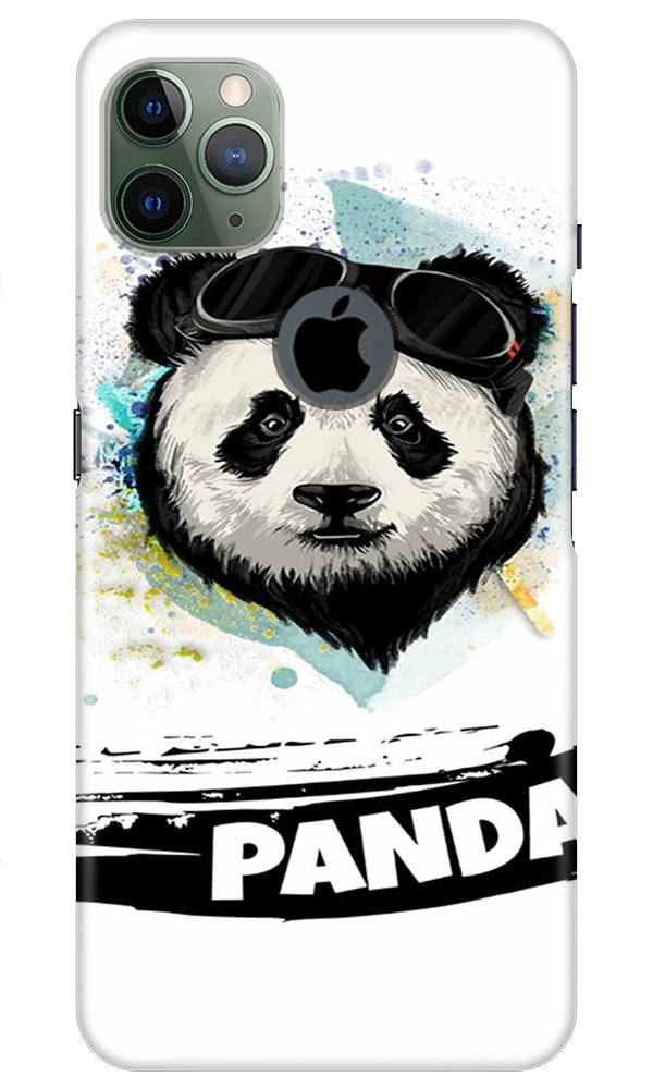 Panda Mobile Back Case for iPhone 11 Pro Max Logo Cut (Design - 319)