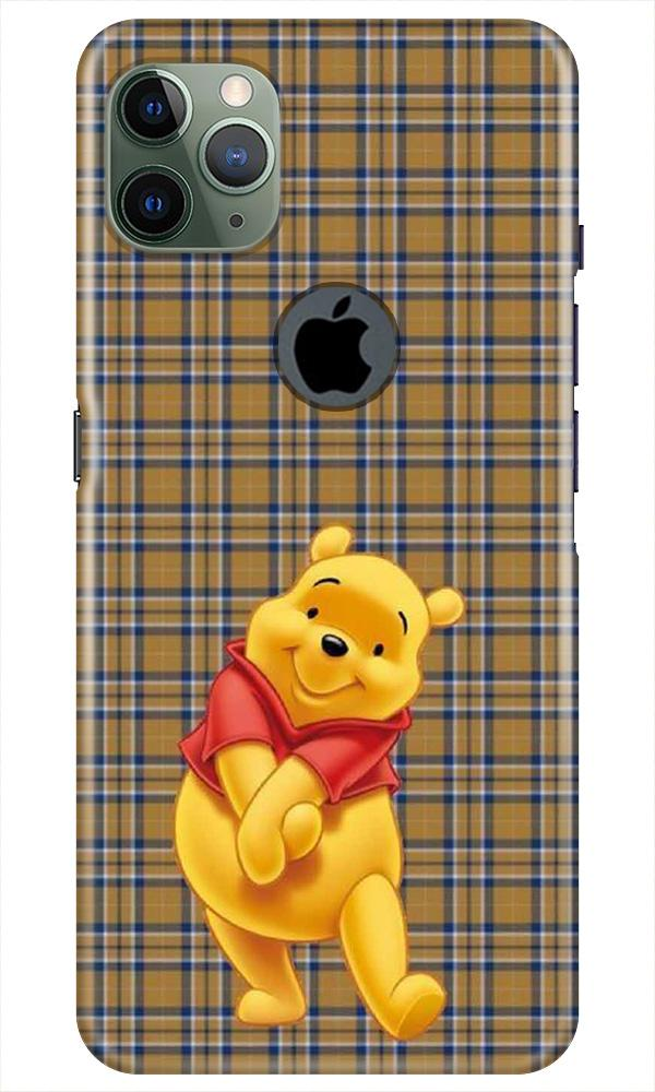 Pooh Mobile Back Case for iPhone 11 Pro Max Logo Cut (Design - 321)