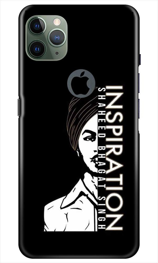 Bhagat Singh Mobile Back Case for iPhone 11 Pro Max Logo Cut (Design - 329)